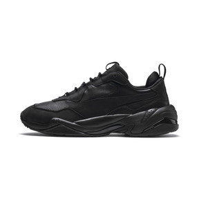 Thumbnail 1 of Thunder Leather Trainers, Puma Black, medium