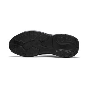 Thumbnail 3 of Thunder Leather Trainers, Puma Black, medium
