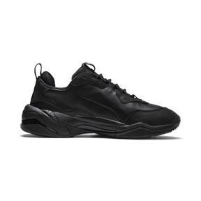 Thumbnail 5 of Thunder Leather Trainers, Puma Black, medium