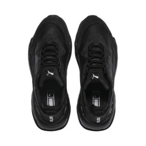 Thumbnail 6 of Thunder Leather Trainers, Puma Black, medium
