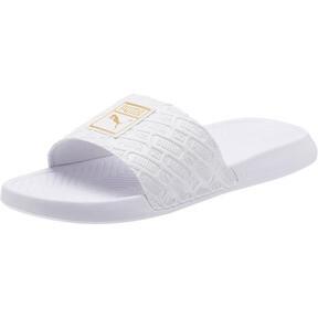 Thumbnail 1 of Popcat Reinvent Slides, Puma White-Puma White, medium