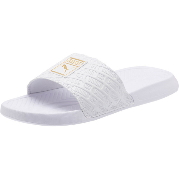 Popcat Reinvent Slides, Puma White-Puma White, large