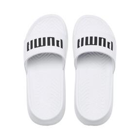 Thumbnail 6 of Popcat Patent Women's Sandals, Puma White-Puma Black, medium