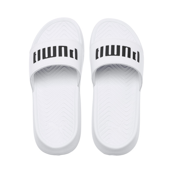 Popcat Patent Women's Sandals, Puma White-Puma Black, large