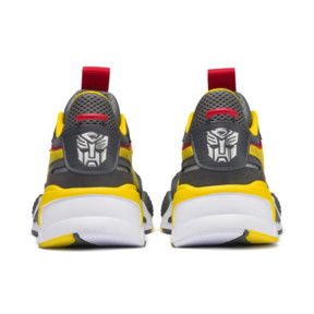 Thumbnail 3 of PUMA x TRANSFORMERS RS-X Bumblebee Trainers, QUIET SHADE-Cyber Yellow, medium