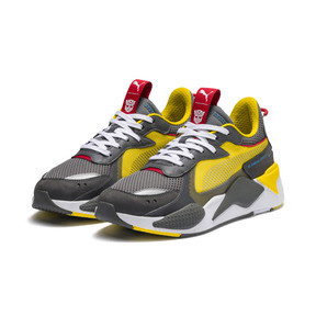Thumbnail 2 of PUMA x TRANSFORMERS RS-X Bumblebee Trainers, QUIET SHADE-Cyber Yellow, medium