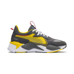 Thumbnail 5 of PUMA x TRANSFORMERS RS-X Bumblebee Trainers, QUIET SHADE-Cyber Yellow, medium