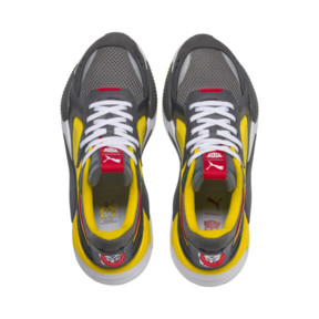 Thumbnail 6 of PUMA x TRANSFORMERS RS-X Bumblebee Trainers, QUIET SHADE-Cyber Yellow, medium