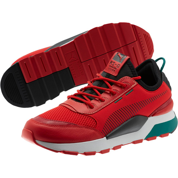 RS-0 RM Sneakers, High Risk Red-Puma Black, large