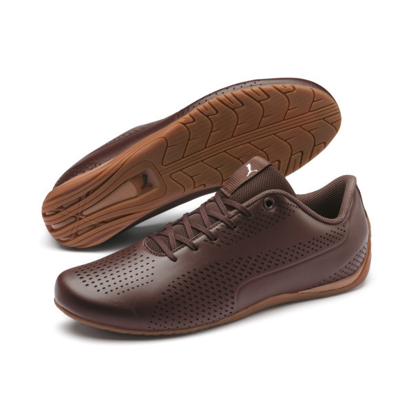 Basket Drift Cat 5 Ultra, Chocolate Brown-Puma Silver, large