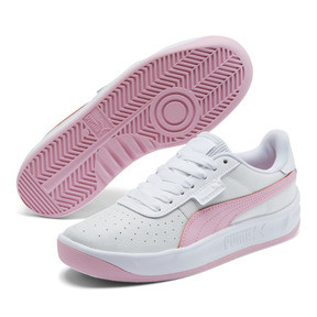 Thumbnail 2 of California Women's Sneakers, Puma Wht-Pale Pink-Puma Wht, medium
