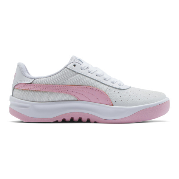 California Women's Sneakers, Puma Wht-Pale Pink-Puma Wht, large