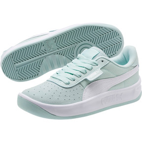 Thumbnail 2 of California Women's Sneakers, Fair Aqua-Puma Wht-Puma Wht, medium