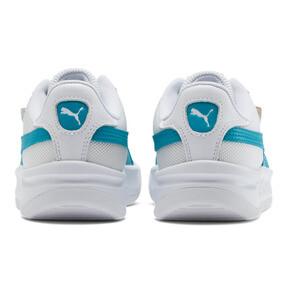 Thumbnail 3 of California Women's Sneakers, P Wht-Caribbean Sea-P Wht, medium