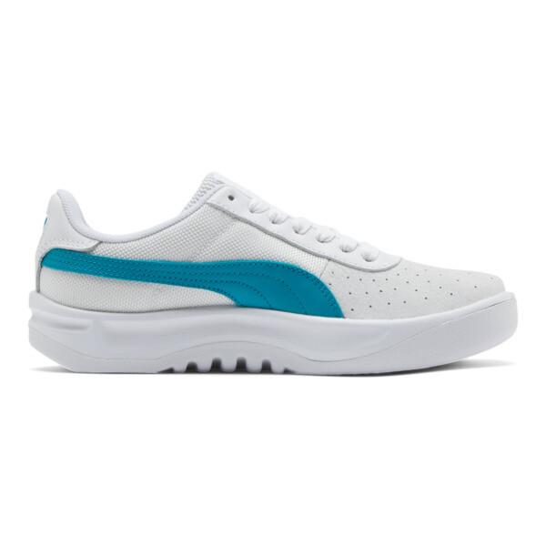 California Women's Sneakers, P Wht-Caribbean Sea-P Wht, large