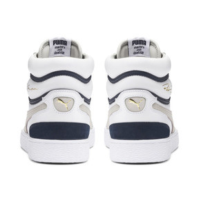 Thumbnail 3 of Ralph Sampson Mid OG Trainers, Puma Wht-Gray Violet-Peacoat, medium