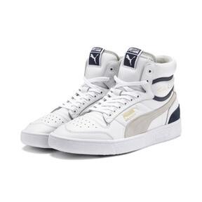 Thumbnail 2 of Ralph Sampson Mid OG Sneakers, Puma Wht-Gray Violet-Peacoat, medium