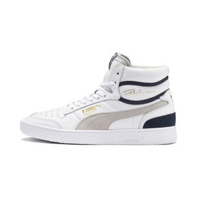Thumbnail 1 of Ralph Sampson Mid OG Trainers, Puma Wht-Gray Violet-Peacoat, medium