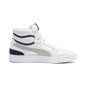 Thumbnail 5 of Ralph Sampson Mid OG Trainers, Puma Wht-Gray Violet-Peacoat, medium