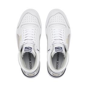 Thumbnail 6 of Ralph Sampson Mid OG Sneakers, Puma Wht-Gray Violet-Peacoat, medium