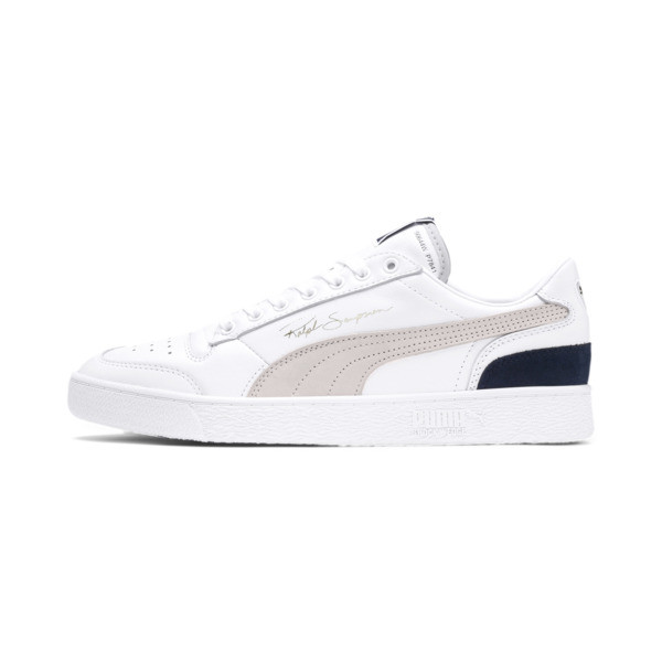 Ralph Sampson Low OG Trainers, Puma Wht-Gray Violet-Peacoat, large
