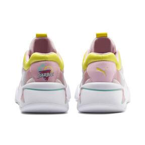 Thumbnail 3 of Nova x Barbie Women's Sneakers, Puma White-Orchid Pink, medium