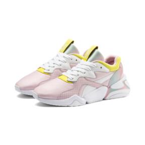 Thumbnail 2 of Nova x Barbie Women's Sneakers, Puma White-Orchid Pink, medium