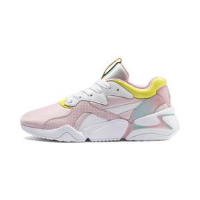 Thumbnail 1 of Nova x Barbie Women's Sneakers, Puma White-Orchid Pink, medium