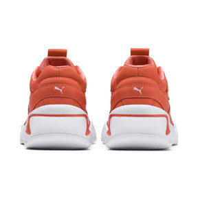 Thumbnail 3 of PUMA x PANTONE Nova Damen Sneaker, Living Coral-Puma White, medium