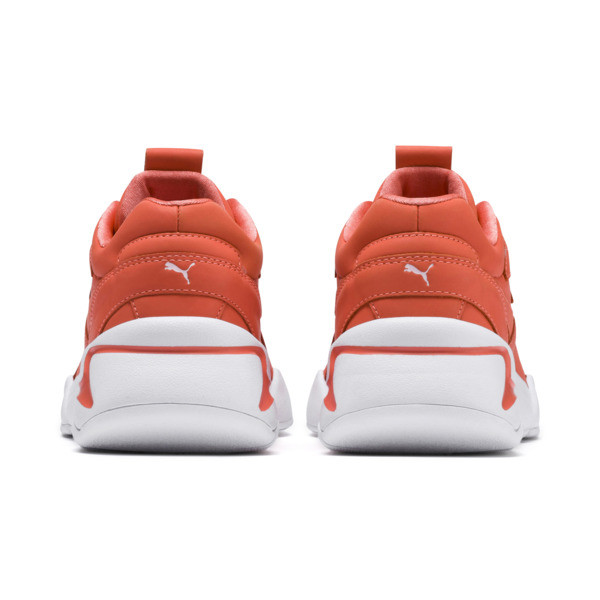 PUMA x PANTONE Nova Damen Sneaker, Living Coral-Puma White, large