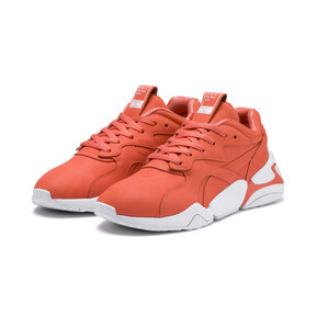 Thumbnail 2 of PUMA x PANTONE Nova Damen Sneaker, Living Coral-Puma White, medium