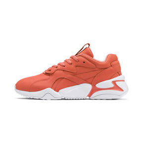 Thumbnail 1 of PUMA x PANTONE Nova Damen Sneaker, Living Coral-Puma White, medium