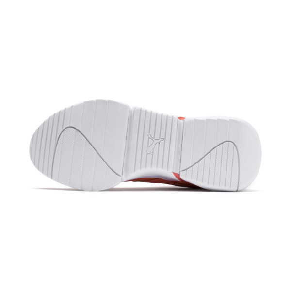 Nova x Pantone Women's Sneakers, Living Coral-Puma White, large