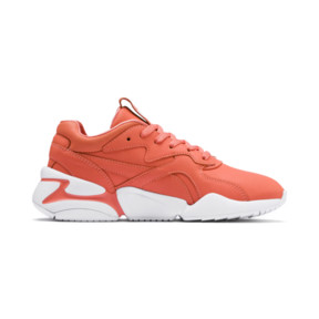 Thumbnail 5 of PUMA x PANTONE Nova Damen Sneaker, Living Coral-Puma White, medium