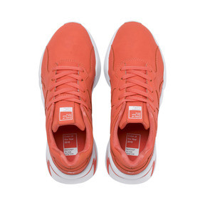 Thumbnail 6 of PUMA x PANTONE Nova Damen Sneaker, Living Coral-Puma White, medium