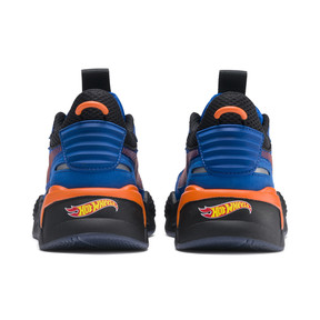 Thumbnail 4 of PUMA x HOT WHEELS RS-X Toys Bone Shaker Youth Trainers, Puma Royal-Puma Black, medium