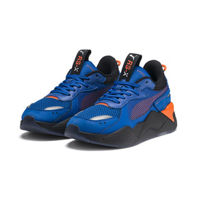 Thumbnail 3 of PUMA x HOT WHEELS RS-X Toys Bone Shaker Youth Trainers, Puma Royal-Puma Black, medium