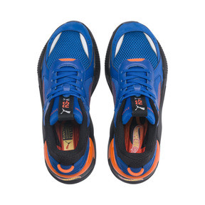 Thumbnail 7 of PUMA x HOT WHEELS RS-X Toys Bone Shaker Youth Trainers, Puma Royal-Puma Black, medium