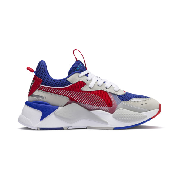 Basket PUMA x TRANSFORMERS RS-X Optimus Prime Youth, Dazzling Blue-High Risk Red, large