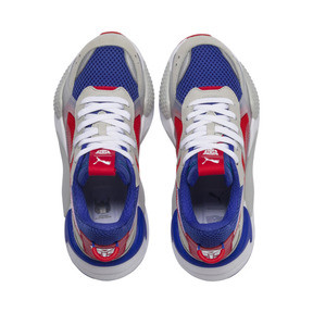 Thumbnail 6 of PUMA x TRANSFORMERS RS-X Optimus Prime Youth Trainers, Dazzling Blue-High Risk Red, medium