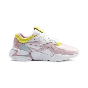 Thumbnail 5 of PUMA x BARBIE Nova Kid Girls' Trainers, Orchid Pink-Puma White, medium