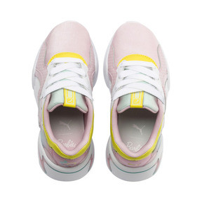 Thumbnail 6 of PUMA x BARBIE Nova Kid Girls' Trainers, Orchid Pink-Puma White, medium