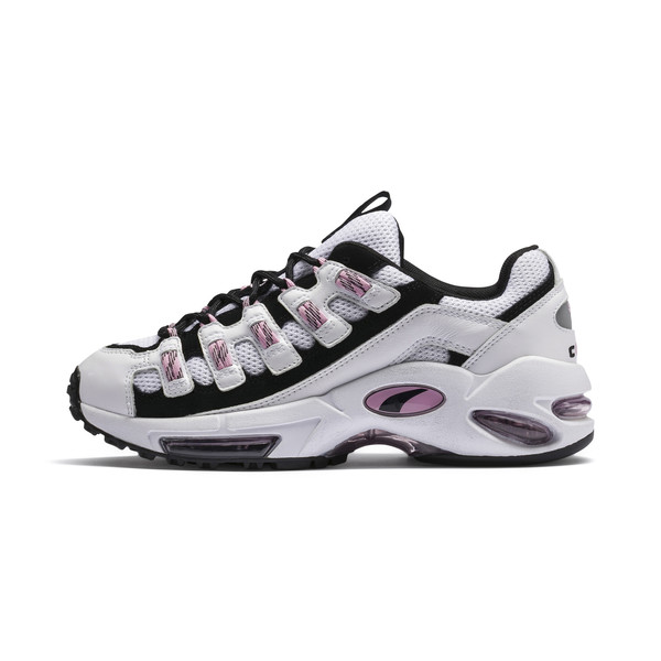 CELL Endura Women's Sneakers, Puma White-Pale Pink, large