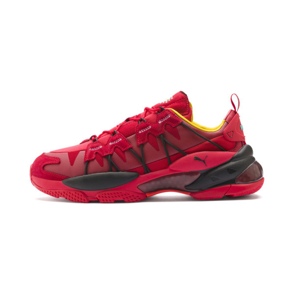 LQDCELL Omega Manga Cult Trainers, High Risk Red, large