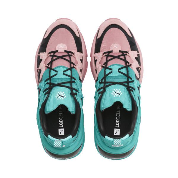 LQDCELL Omega Manga Cult Training Shoes, Bridal Rose-Blue Turquoise, large
