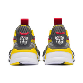 Thumbnail 3 of PUMA x TRANSFORMERS RS-X Bumblebee Youth Trainers, QUIET SHADE-Cyber Yellow, medium