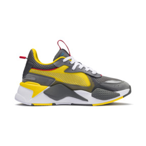 Thumbnail 5 of PUMA x TRANSFORMERS RS-X Bumblebee Youth Trainers, QUIET SHADE-Cyber Yellow, medium