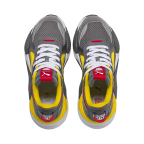 Thumbnail 6 of PUMA x TRANSFORMERS RS-X Bumblebee Youth Trainers, QUIET SHADE-Cyber Yellow, medium