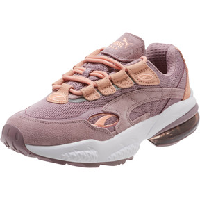 Thumbnail 1 of CELL Venom Women's Sneakers, Elderberry-Peach Bud, medium