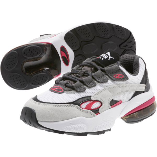 CELL Venom Women's Sneakers, Puma White-Fuchsia Purple, large